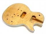 E-Gitarren-Bausatz/Guitar Kit MLP Quilted Maple Top Custom Mahagoni