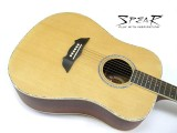 Western-Gitarre / Akustik-Gitarre Spear SD 70E, mit Tonabnehmer und EQ