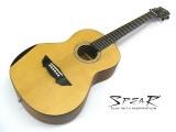 Travel-Guitar / Reise-Gitarre Spear SP 70P E, mit Tonabnehmer und EQ