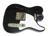 Korpus/Body II thinline S schwarz, spielfähig verdrahtet