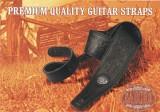 Gitarrengurt Gaucho GST-641-DBR Stylish Series dunkelbraun