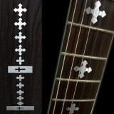 Jockomo Fretboard / Griffbrett Inlays, Decals Mark-Cross