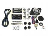 E-Gitarren-Bausatz MLP Standard+ , Flame Top, Mahagoni