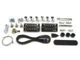 E-Gitarren-Bausatz Explorer-Style Deluxe Custom Mahagoni