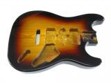 Korpus/Body I Esche 3-Tone Sunburst