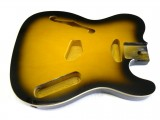 Korpus/Body II Thinline 2 Tone Sunburst