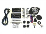E-Gitarren-Bausatz MLP Flame Top Standard Mahagoni
