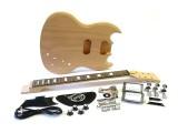E-Gitarren-Bausatz/Guitar Kit MSG Custom Mahagoni II.Wahl