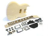 E-Gitarren-Bausatz/Guitar DIY Kit MSG II.Wahl