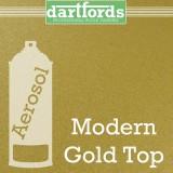 Nitrocellulose Lack Spray / Aerosol Modern Gold Top 400ml