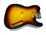 Korpus/Body II Thinline 3 Tone Sunburst