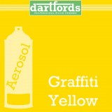 Nitrocellulose Lack Spray / Aerosol Graffiti Yellow  400ml