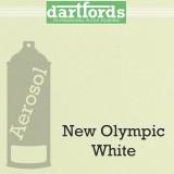 Nitrocellulose Lack Spray / Aerosol New Olympic White 400ml