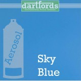 Nitrocellulose Lack Spray / Aerosol Sky Blue 400ml