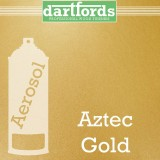 Nitrocellulose Lack Spray / Aerosol Aztec Gold Metallic 400ml