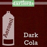 Nitrocellulose Lack Spray / Aerosol Dark Cola Metallic 400ml