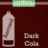 Nitrocellulose Lack Spray / Aerosol Dark Cola Metallic 400ml
