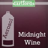 Nitrocellulose Lack Spray / Aerosol Midnight Wine Metallic 400ml