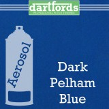 Nitrocellulose Lack Spray / Aerosol Pelham Dark Blue Metallic 400ml