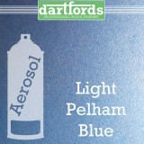 Nitrocellulose Lack Spray / Aerosol Pelham Light Blue Metallic 400ml