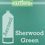 Nitrocellulose Lack Spray / Aerosol Sherwood Green Metallic 400ml