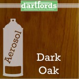 Nitrocellulose Lack Spray / Aerosol Dark Oak 400ml