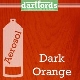 Nitrocellulose Lack Spray / Aerosol Dark Orange 400ml