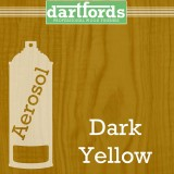 Nitrocellulose Lack Spray / Aerosol Dark Yellow 400ml
