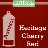 Nitrocellulose Lack Spray / Aerosol Heritage Cherry Red 400ml