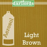Nitrocellulose Lack Spray / Aerosol Light Brown 400ml