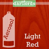 Nitrocellulose Lack Spray / Aerosol Light Red 400ml