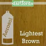 Nitrocellulose Lack Spray / Aerosol Lightest Brown 400ml