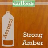 Nitrocellulose Lack Spray / Aerosol Strong Amber 400ml