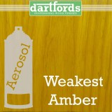 Nitrocellulose Lack Spray / Aerosol Weakest Amber 400ml