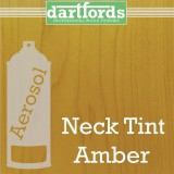 Nitrocellulose Lack Spray / Aerosol Neck Tint Amber 400ml