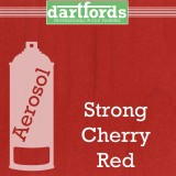 Nitrocellulose Lack Spray / Aerosol Strong Cherry Red 400ml