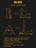 Klappbarer kompakter Universal-Gitarren-Ständer