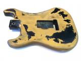 E-Gitarren-Bausatz/Guitar Kit Style I aged Black