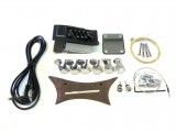 E-Akustik Bausatz/Guitar DIY Kit PML-Coustic mit Bird Inlays