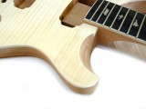 E-Git.-Bausatz/Guitar Kit PR- IV- Flamed Top Custom Mahagoni