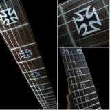 Jockomo Fretboard / Griffbrett Inlays, Decals Iron Cross (Metallic)