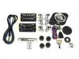E-Gitarren-Bausatz Guitar Kit LP Junior-Style HH Mahagoni