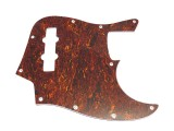 Bass Pickguard Standard 10-Loch 3-lagig Tortoise medium