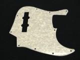 Bass Pickguard Standard 10-Loch 3-lagig white pearl