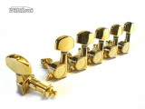 Gitarren-Mechaniken Wilkinson WJ-01 6 rechts große Flügel in gold
