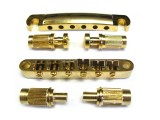 LP-Style Tun-O-Matic Bridge/Brücke + Saitenhalter gold