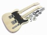 E-Gitarren-Bausatz II Doppelhals 12 u. 6 saitig