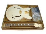 E-Gitarren-Bausatz/Guitar Kit MES Flamed Maple Top