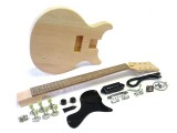 E-Gitarren-Bausatz Guitar Kit LP Junior-Style Double Cutaway