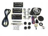 E-Gitarren-Bausatz Guitar Kit MLP mit 3 x Humbucker, Mahagoni